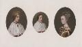 James III of Scotland; James IV of Scotland; Margaret of Denmark, after Hugo van der Goes - NPG D42378