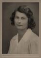 Beryl Kathleen Kerr (née Gibson), by Hay Wrightson Ltd - NPG x180927
