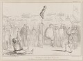Going to the Fair with it, by John ('HB') Doyle, printed by  Alfred Ducôte, published by  Thomas McLean - NPG D41411