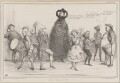 May Day in 1837, by John ('HB') Doyle, printed by  Alfred Ducôte, published by  Thomas McLean - NPG D41417