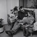 Catherine ('Kathy') Sykes; Eric Sykes; Susan Sykes, by Bob Collins - NPG x136435