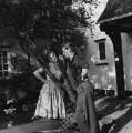 Shirley Eaton; Colin Lenton-Rowe, by Bob Collins - NPG x136443