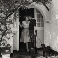 Shirley Eaton; Colin Lenton-Rowe, by Bob Collins - NPG x136444