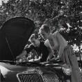 Shirley Eaton; Colin Lenton-Rowe, by Bob Collins - NPG x136446