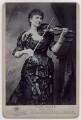 Wilma Norman-Neruda, by Alexander Bassano - NPG x136473