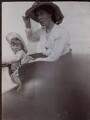 Julian Heward Bell; Vanessa Bell (née Stephen), by Unknown photographer - NPG x136462