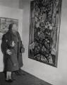 Sir Jacob Epstein; Judith Lade, by Unknown photographer, for  Keystone Press Agency Ltd - NPG x136479