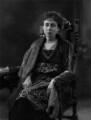 Anita (née Stewart, later Morris), Princess of Braganza, by Bassano Ltd - NPG x158377