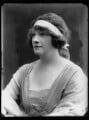 Gwladys Ethel Gwendolen Eugénie (née Sutherst), Marchioness Townshend (later le Stange), by Bassano Ltd - NPG x158473