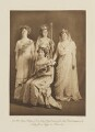 Group in fancy dress for the Shakespeare Memorial National Theatre Ball, by Langfier Ltd, published by  Hudson & Kearns Ltd - NPG Ax135780