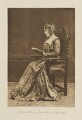 Leonie Blanche (née Jerome), Lady Leslie as a Court Lady in 'Twelfth Night', by Langfier Ltd, published by  Hudson & Kearns Ltd - NPG Ax135781