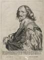 Philip Herbert, 4th Earl of Pembroke, by Robert van Voerst, after  Sir Anthony van Dyck - NPG D42491