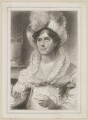 Sarah Egerton (née Fisher) as Clarinda, by Thomas Wright, after  Thomas Charles Wageman, published by  Simpkin and Marshall - NPG D38686
