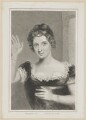 Elizabeth ('Eliza') (née O'Neil), Lady Wrixon-Becher when Miss O'Neill as Belvidera, by Thomas Woolnoth, after  Thomas Charles Wageman, published by  Simpkin and Marshall - NPG D38690