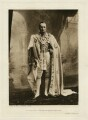 George Nathaniel Curzon, Marquess Curzon of Kedleston, by Bourne & Shepherd, published by  Virtue & Co - NPG x136612
