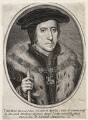 Thomas Howard, 3rd Duke of Norfolk, probably published by Balthasar Moncornet, after  Hans Holbein the Younger - NPG D42571