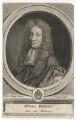 John Dryden, by Pieter Stevens van Gunst, after  John Riley - NPG D42576