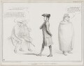 A Greenwich Pensioner (Richard Lalor Sheil; Daniel O'Connell), by John ('HB') Doyle, printed by  Alfred Ducôte, published by  Thomas McLean - NPG D41466