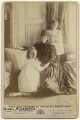 Princess Alexandra, Princess Arthur of Connaught; Queen Alexandra; Princess Maud, Countess of Southesk, by W. & D. Downey - NPG x136643