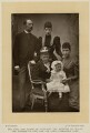 Alexandra of Denmark with members of her family, by W. & D. Downey, published by  Cassell & Company, Ltd - NPG x136644