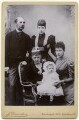 Alexandra of Denmark with members of her family, by J. Danielsen, after  W. & D. Downey - NPG x136645