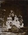 Alexandra of Denmark with her children, by Georg Emil Hansen - NPG x136646