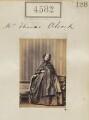 Elizabeth Alcock (née Stuart), by Camille Silvy - NPG Ax54594
