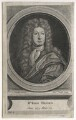 John Dryden, by Michael Vandergucht, after  Sir Godfrey Kneller, Bt - NPG D42579