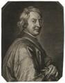 John Dryden, by Gérard Edelinck, after  Sir Godfrey Kneller, Bt - NPG D42583