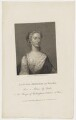 Augusta of Saxe-Gotha, Princess of Wales, by Charles Picart, drawn by  Gardner, published by  T. Cadell & W. Davies, after  Christian Friedrich Zincke - NPG D42594