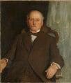 Sir Robert McAlpine, 1st Bt, by Harrington Mann - NPG 6958