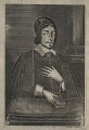 Christopher Love, by Thomas Cross, after  Cornelis Johnson Jr (Jonson van Ceulen) - NPG D42601
