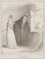 The Duenna (Queen Victoria; William Lamb, 2nd Viscount Melbourne; John George Lambton, 1st Earl of Durham), by John ('HB') Doyle, printed by  Alfred Ducôte, published by  Thomas McLean - NPG D41499
