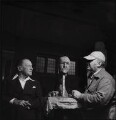 Somerset Maugham; Jacob Epstein, by Ida Kar - NPG x136755