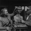 Anna Neagle; Jacob Epstein, by Ida Kar - NPG x136756