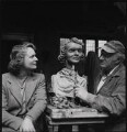 Anna Neagle; Jacob Epstein, by Ida Kar - NPG x136757
