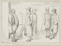 A Coachman Wanted - Candidates for the Place, by John ('HB') Doyle, printed by  Alfred Ducôte, published by  Thomas McLean - NPG D41504