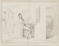 The Dis-Organist, by John ('HB') Doyle, printed by  Alfred Ducôte, published by  Thomas McLean - NPG D41505