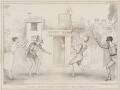 Comic Pantomime - Curious Metamorphosis, by John ('HB') Doyle, printed by  Alfred Ducôte, published by  Thomas McLean - NPG D41506