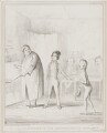 Oliver Introduced to the Respectable Old Gentleman, by John ('HB') Doyle, printed by  Alfred Ducôte, published by  Thomas McLean - NPG D41510