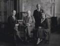 Henry Charles Usborne; Clement Edward Davies; Gilbert McAllister; Mary Tibaldi Chiesa, by Howard Coster - NPG x136841