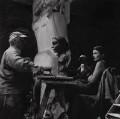 Sir Jacob Epstein; Nancy Rogers, by Ida Kar - NPG x136758