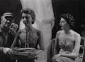 Sir Jacob Epstein; Aileen Mindel ('Minda') Bronfman de Gunzburg, Baroness Gunzburg, by Ida Kar - NPG x136763