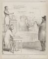 A Sherriff's Sale, by John ('HB') Doyle, printed by  Alfred Ducôte, published by  Thomas McLean - NPG D41559