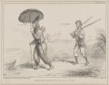 Robinson Crusoe and his Man Friday (Henry George Grey, 3rd Earl Grey; Charles Wood, 1st Viscount Halifax), by John ('HB') Doyle, printed by  Alfred Ducôte, published by  Thomas McLean - NPG D41575
