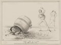 New Tale of a Tub! (Daniel O'Connell; Edward Stanley, 14th Earl of Derby; Lord Granville Somerset), by John ('HB') Doyle, published by  Thomas McLean, printed by  Engineering, Architectural and General Lithographic Printing Office - NPG D41607