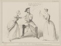 Scene from the Beggar's Opera (John Russell, 1st Earl Russell; Thomas Slingsby Duncombe; Sir Robert Peel, 2nd Bt), by John ('HB') Doyle, published by  Thomas McLean, printed by  General Lithographic Establishment - NPG D41610