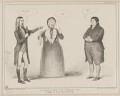 A Scene from the Comedy of the Hypocrite, by John ('HB') Doyle, published by  Thomas McLean, printed by  General Lithographic Establishment - NPG D41611