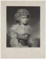 Elizabeth Christiana Cavendish (née Hervey), Duchess of Devonshire when Lady Elizabeth Foster, by James John Chant, published by  Henry Graves & Co, after  Sir Joshua Reynolds - NPG D42648