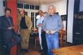 Lucian Freud, Frank Auerbach, Stephen Finer, Julia Auerbach (née Wolstenholme), R.B. Kitaj, by Max Kitaj - NPG x137093